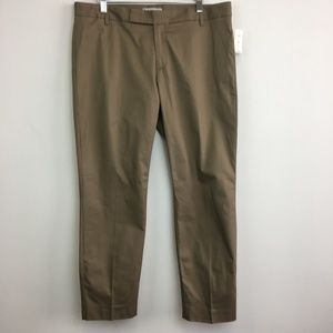 NWT Gap 1969 Khaki Color Slim Cropped Pants